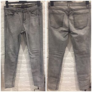 Madewell Jeans - Madewell Grey Skinny Skinny Jeans
